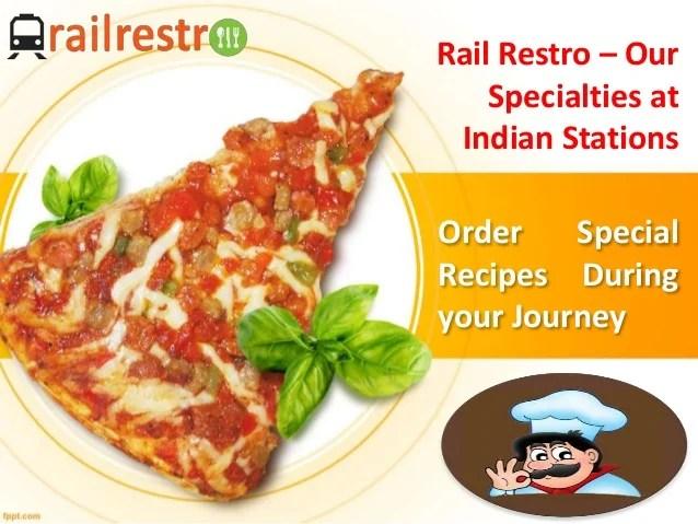 RailRestro - Online Food Ordering in Train