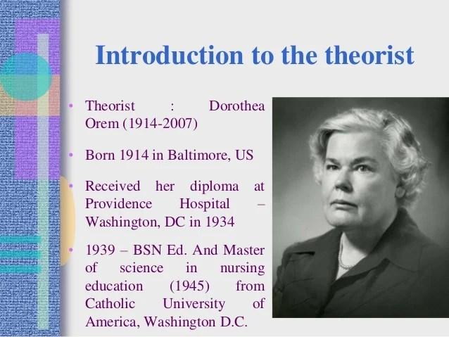 Orems theory