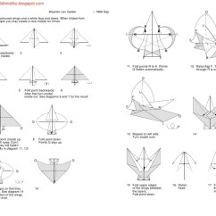 Origami Angel Step By Diagram Behind The Ear Labeled Diagrams Wiring Free Download Modular Near 300 Project 990