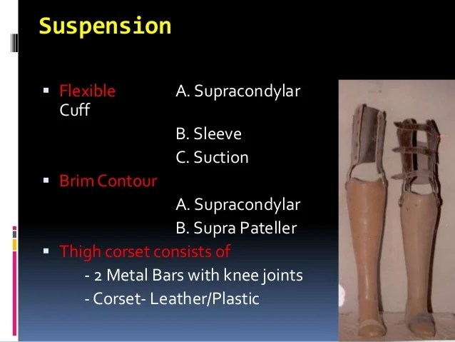 Orthotics and prosthetics UG lecture