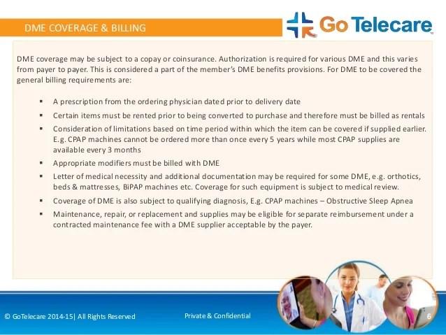 Coding  Billing Services for DME Durable Medical