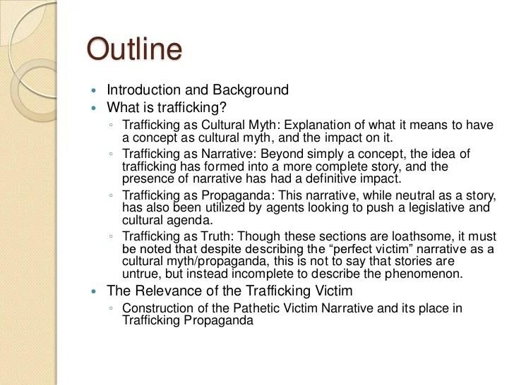 human trafficking argumentative essay