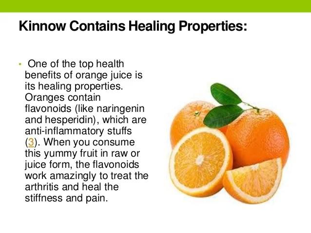 Orange Juice Health Risks