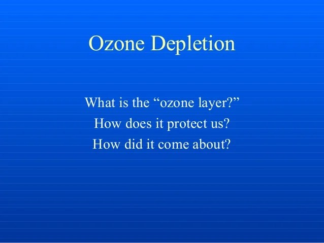Image Result For Ozone Depletion