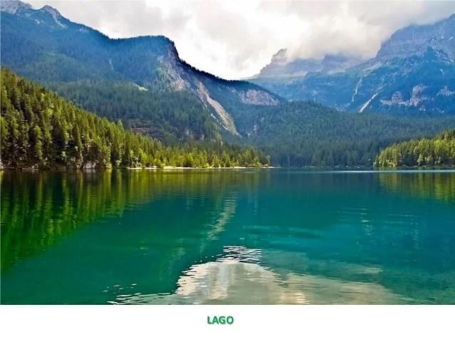 Paesaggio Naturale E Antropico Definizione