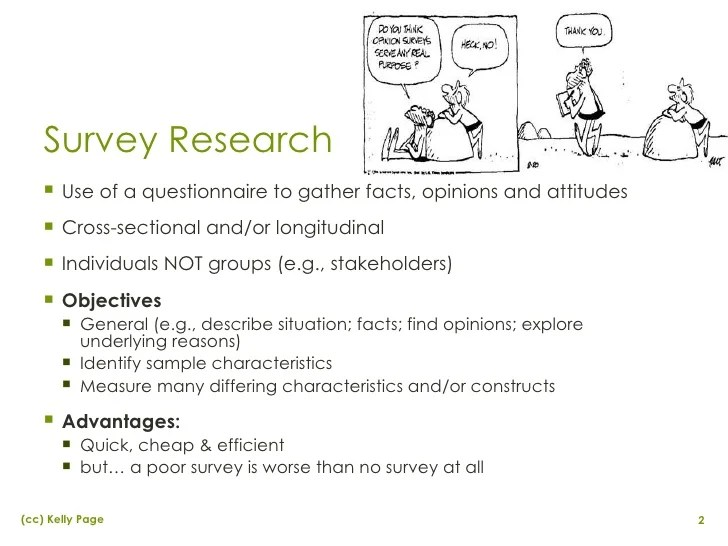 Survey & Questionnaire Design In Applied Marketing Research