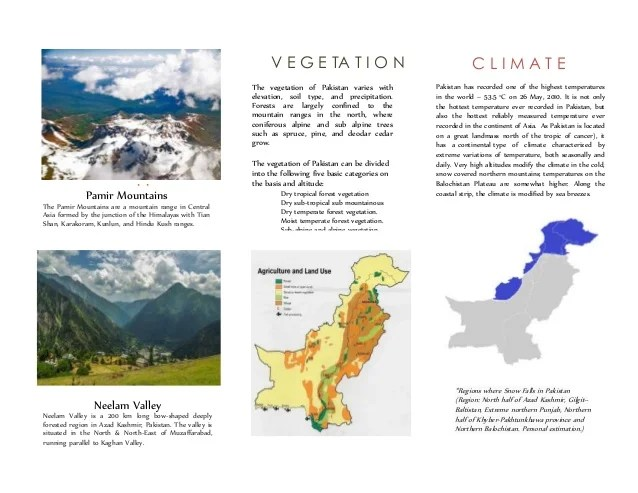 Pakistan Travel Brochure