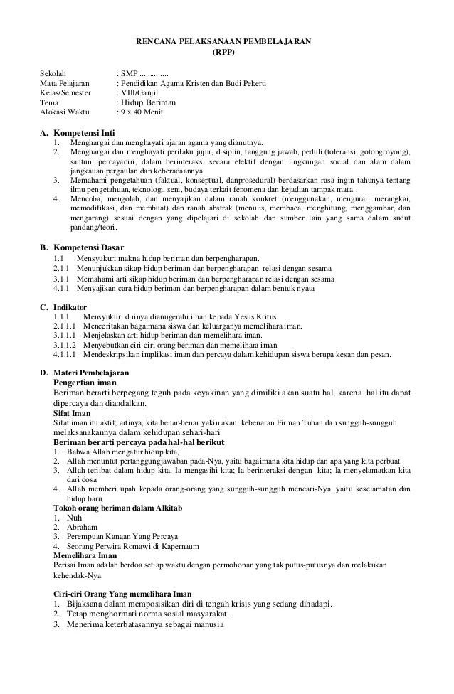Rpp Agama Kristen Smp Kelas 7 Semester 1 K13 : agama, kristen, kelas, semester, Agama, Kristen, Kelas, Kurikulum, Kunci, Jawaban, Cute766