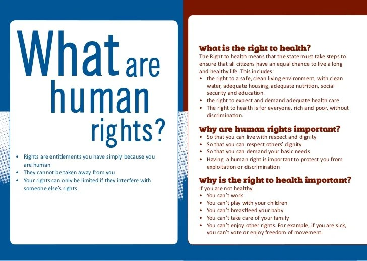 Personal Security Human Rights