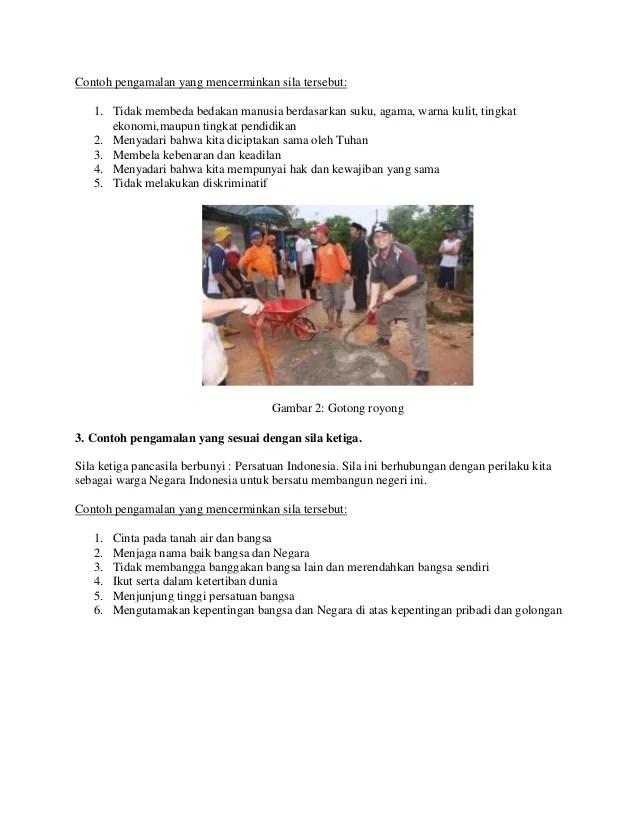 Contoh Gambar Pengamalan Pancasila : contoh, gambar, pengamalan, pancasila, Pancasila, Contohnya