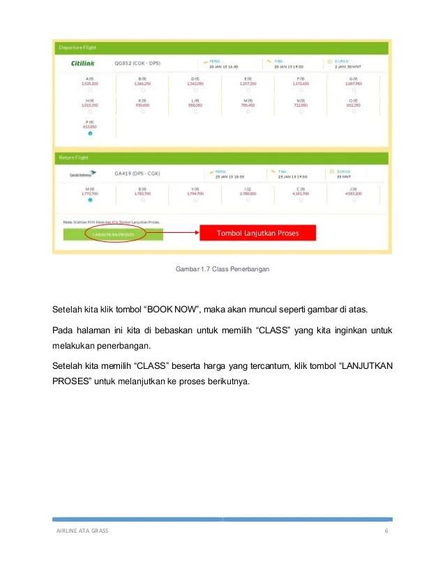 Ata Grass Corp : grass, Panduan, Reservasi, Tiket, Dengan, Sistem