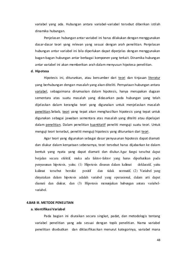Contoh Hubungan Antar Variabel Dalam Skripsi Aneka Macam Contoh Cute766