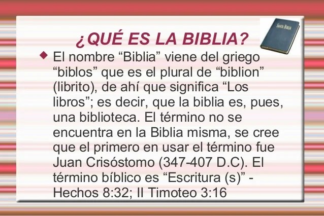 De Parte El Se Dios Nombre De Que La En Encuentra Biblia