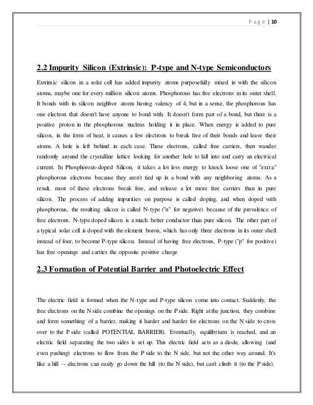 Solar Tree Seminar Report