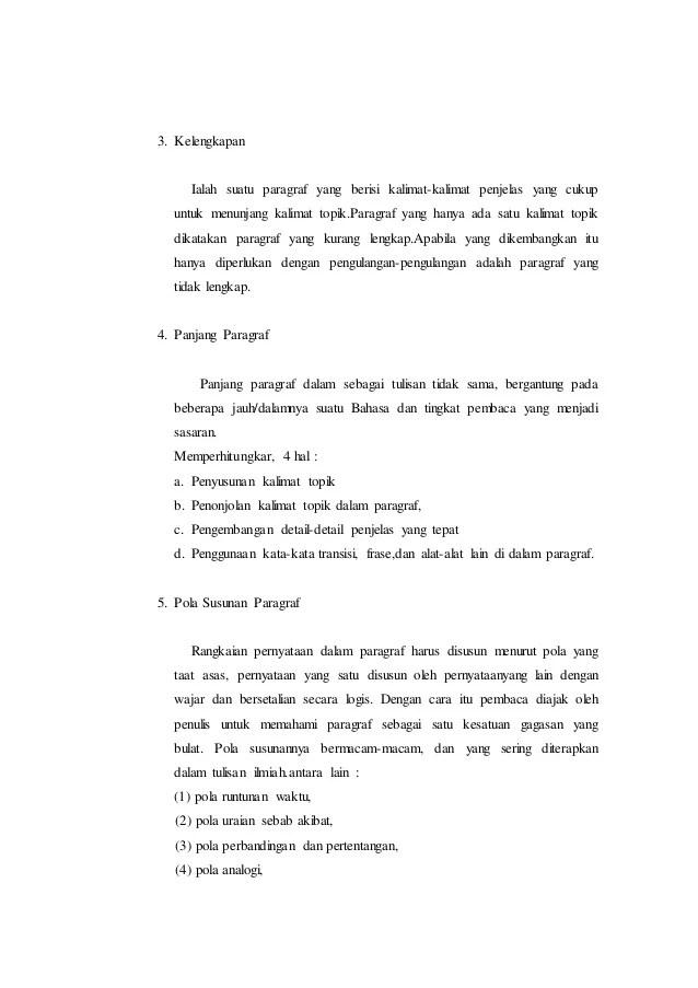 Paragraf Yang Memiliki Ide Pokok Di Awal Paragraf Disebut : paragraf, memiliki, pokok, disebut, Paragraf, Bahasa, Indonesia