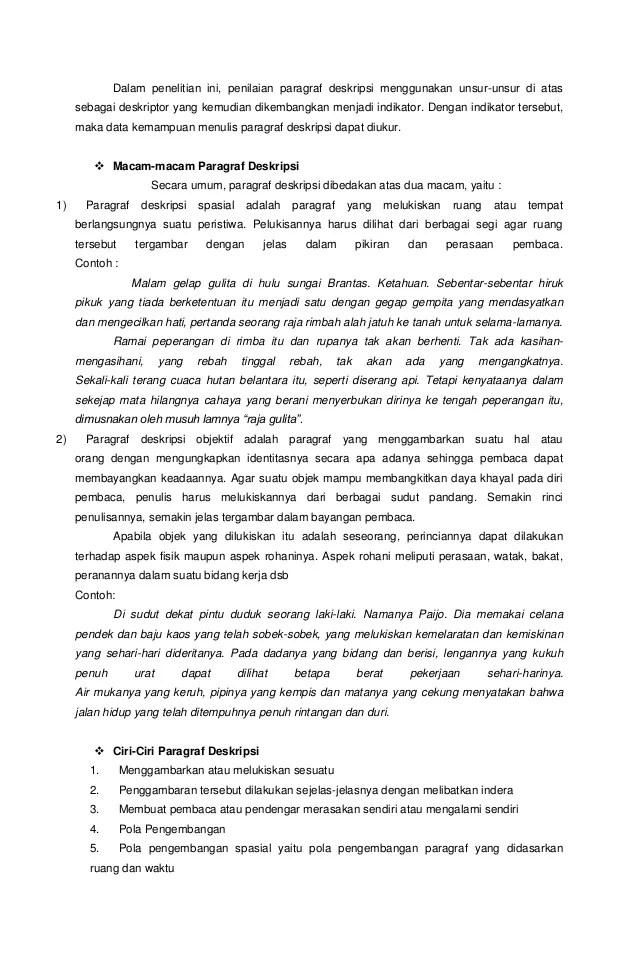 Contoh Teks Deskripsi Jawa Contoh Teks Contoh Teks