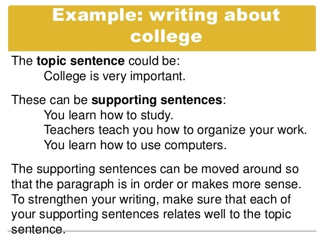 How To Make A Topic Sentence For Essay Write Me A Research Paper