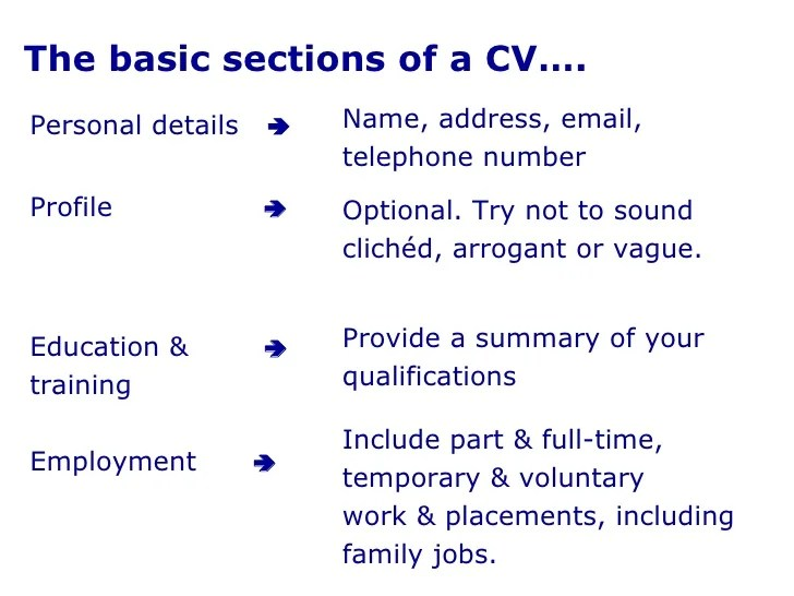 how to write several jobs in a cv