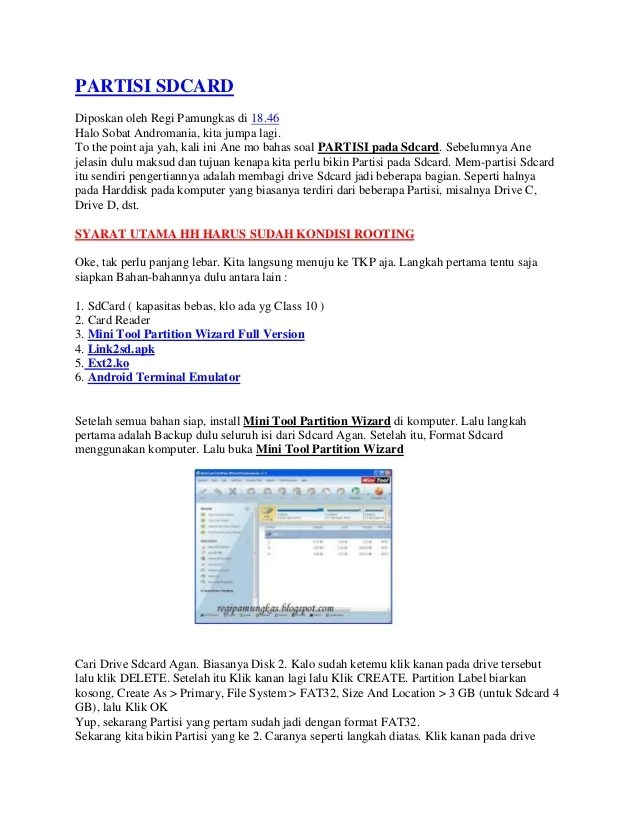 Cara Menggunakan Minitool Partition : menggunakan, minitool, partition, PARTISI