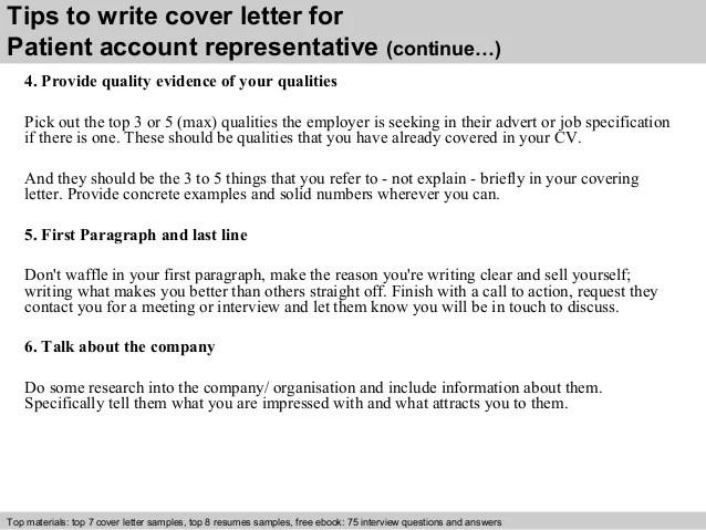 Patient Service Representative Resume Examples