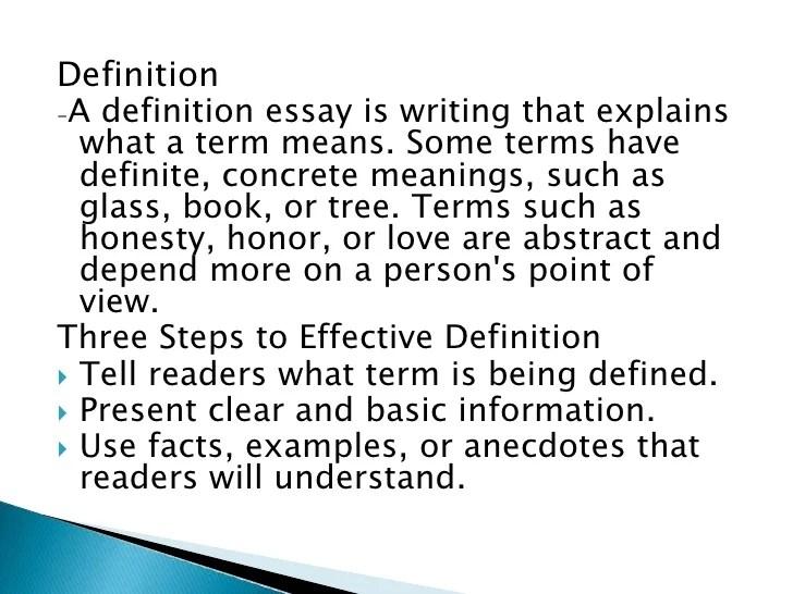 Definition Of Essays Honesty Co Success Auto