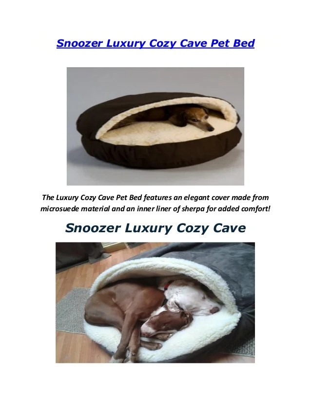 snoozer luxury cozy cave dog bed 28 colors fabrics 3 sizes - Cozy Cave Dog Bed