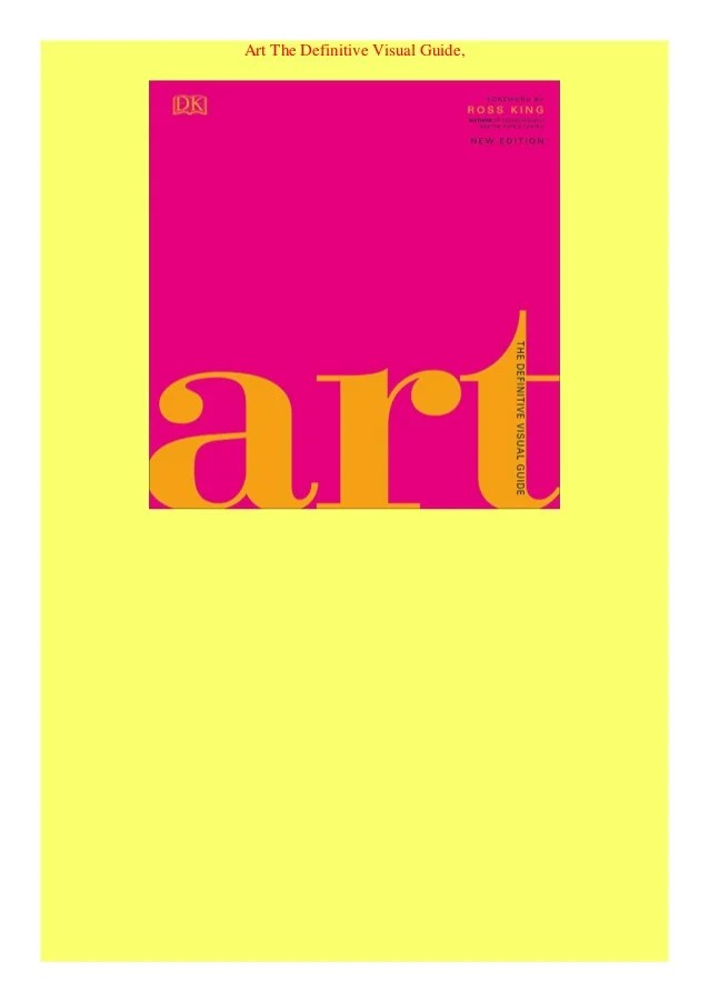 Art The Definitive Visual Guide : definitive, visual, guide, Definitive, Visual, Guide
