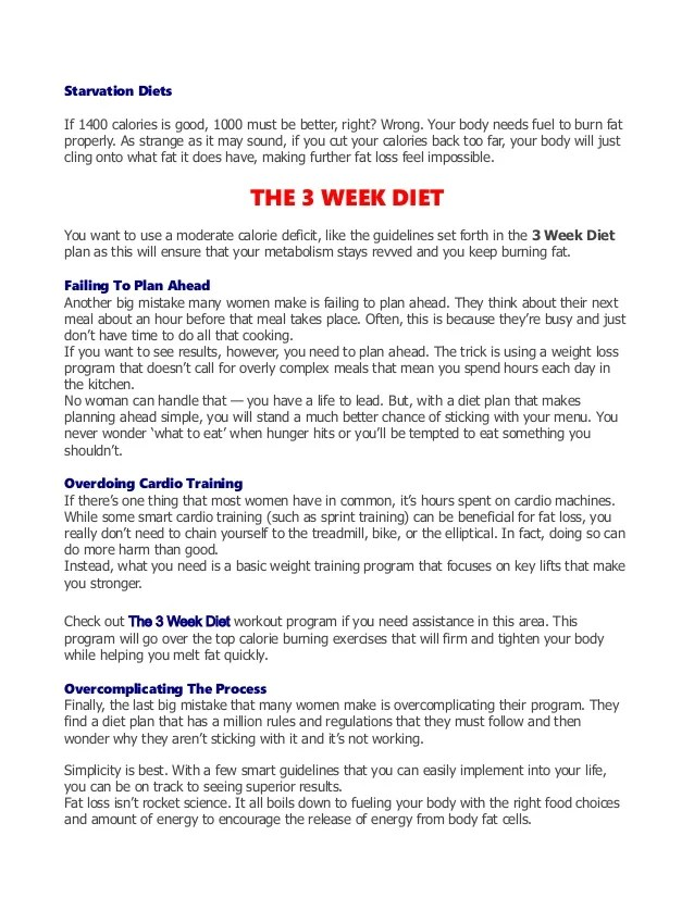 Workout Plan To Lose Weight Pdf Yourviewsiteco