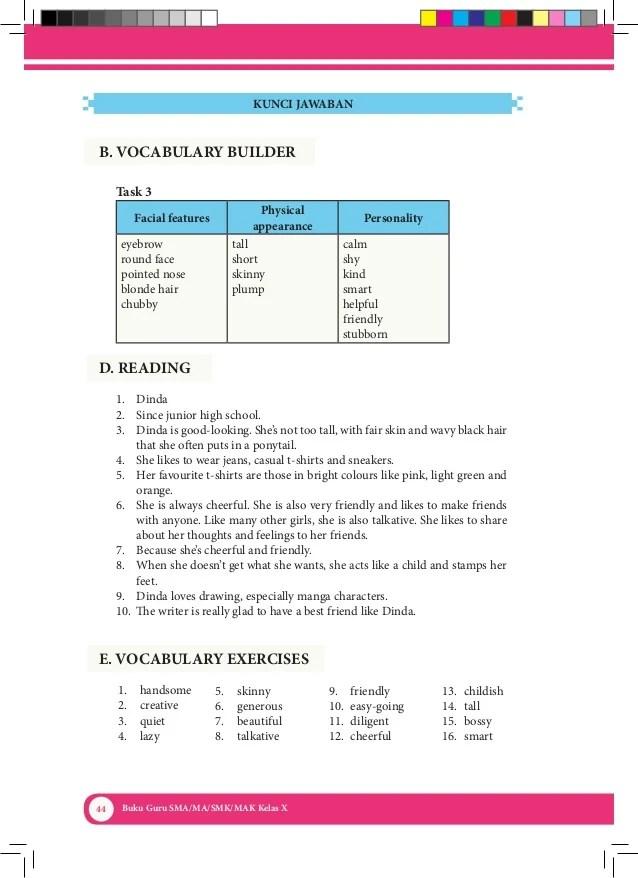 Materi Bahasa Inggris Kelas 10 Semester 2 K13 Revisi : materi, bahasa, inggris, kelas, semester, revisi, Bahasa, Inggris, Kelas, (Kurikulum, 2013), Kemendikbud, (Buku, Guru)