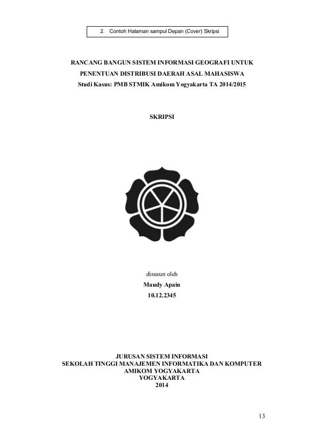 Contoh Abstrak Skripsi Jurusan Bahasa Indonesia Auto Electrical