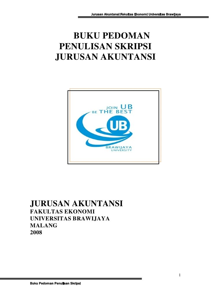 Contoh Cover Proposal Universitas