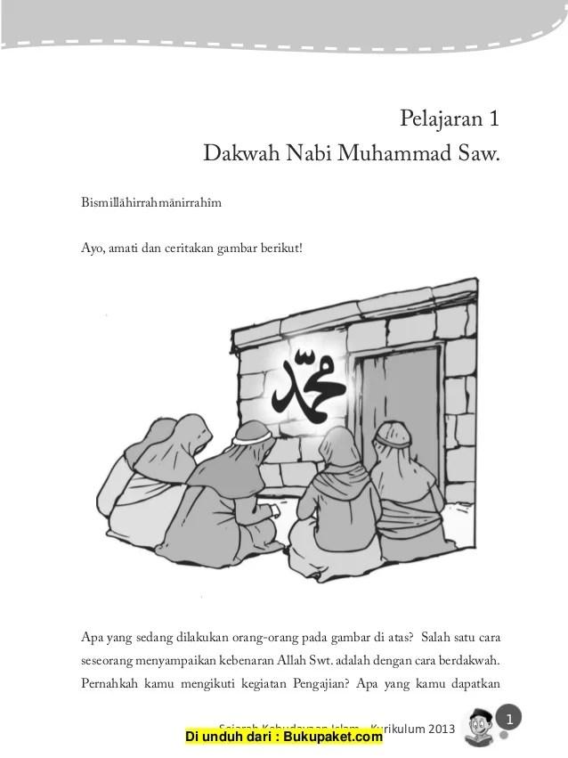 Paman Nabi Muhammad Saw : paman, muhammad, Pelajaran, Dakwah, Muhammad