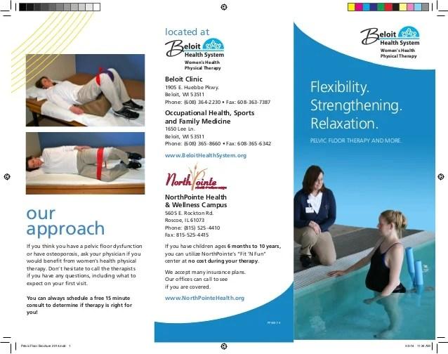 Pelvic Floor Brochure 2014