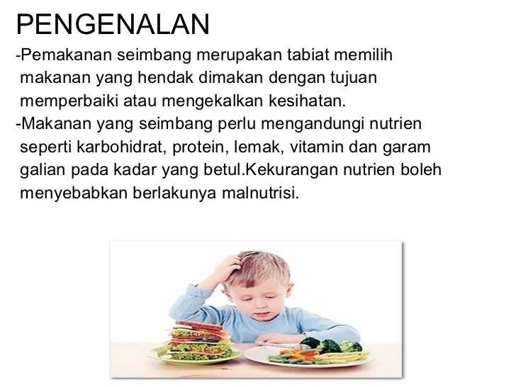 Pemakanan Seimbang