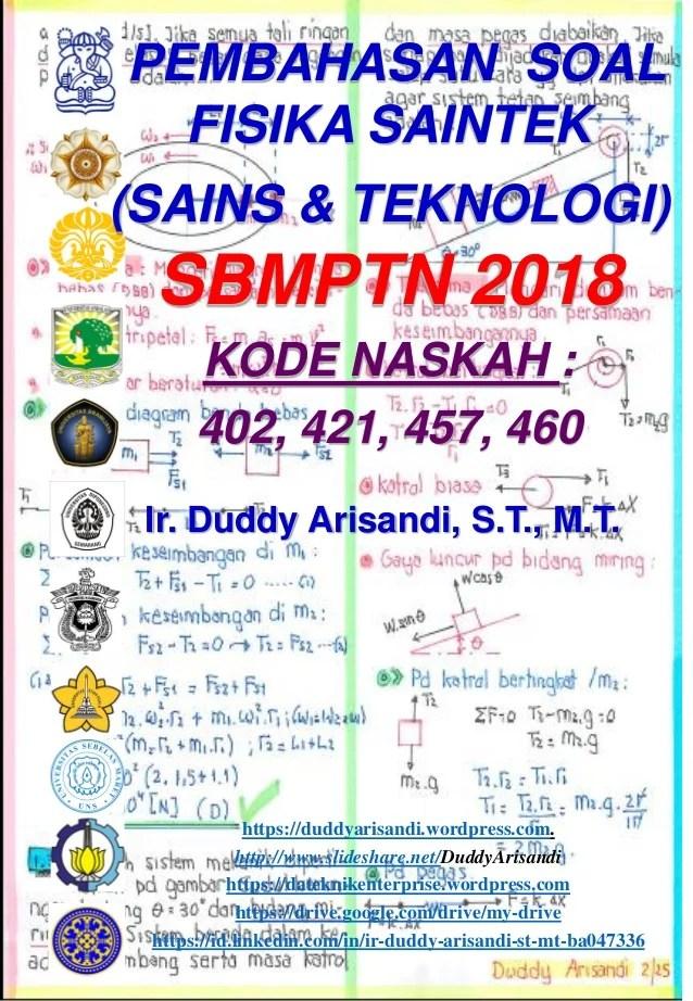 Pembahasan Soal Sbmptn : pembahasan, sbmptn, Pembahasan, Fisika, Saintek, Sbmptn, Naskah, 421-457-46…