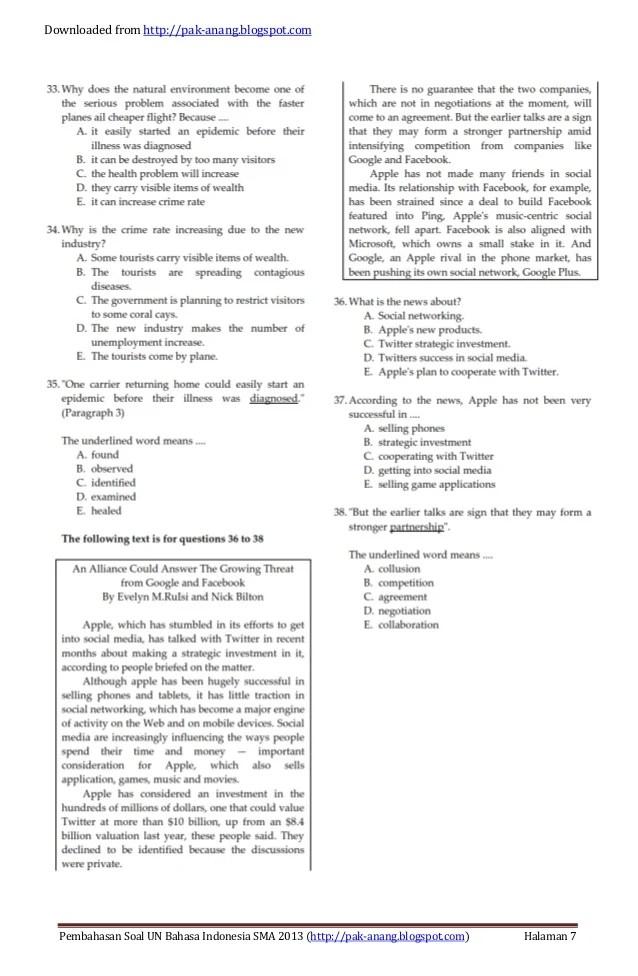 Contoh Soal News Item : contoh, Kumpulan, Materi, Pelajaran, Contoh