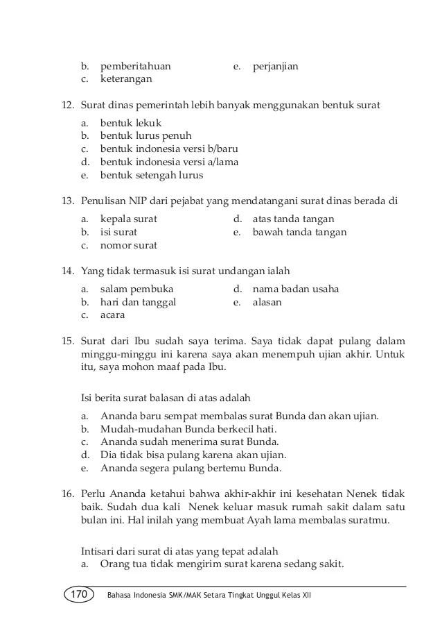 Surat Niaga Block Style