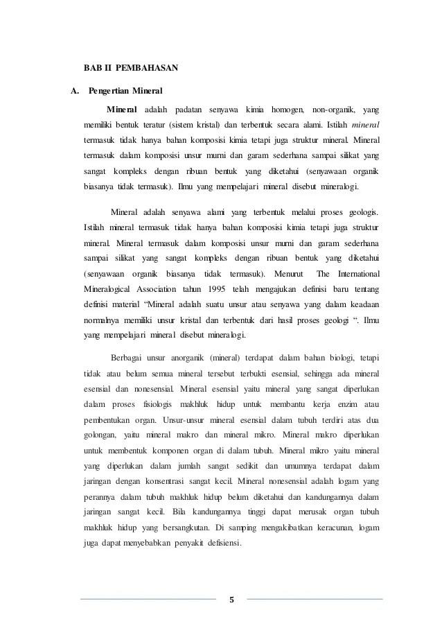 Manfaat Mineral Logam : manfaat, mineral, logam, Pembentukan, Mineral, Logam, Indonesia