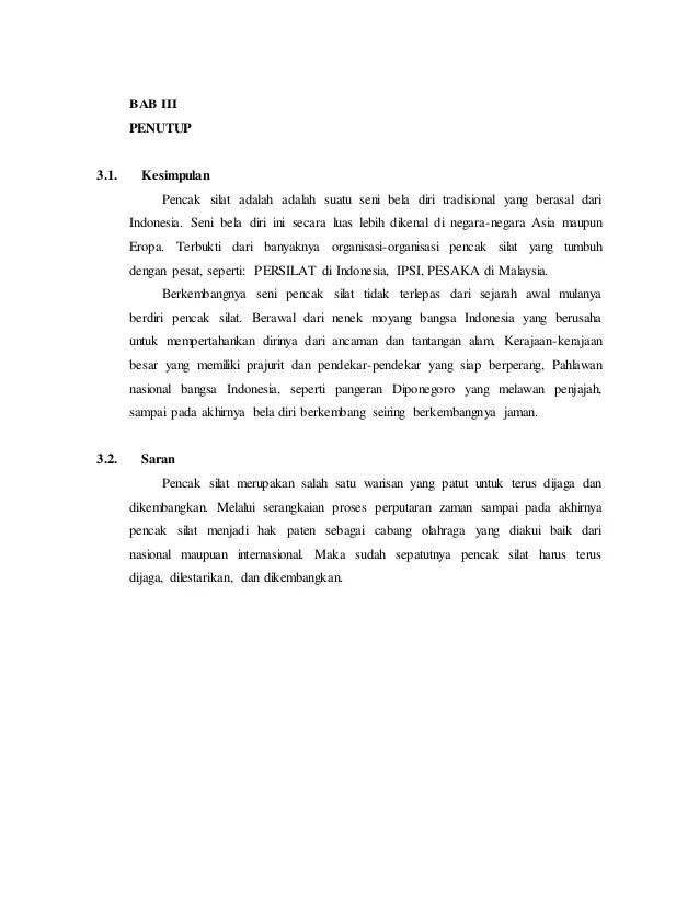 Makalah Tentang Silat : makalah, tentang, silat, Makalah, Pencak, Silat