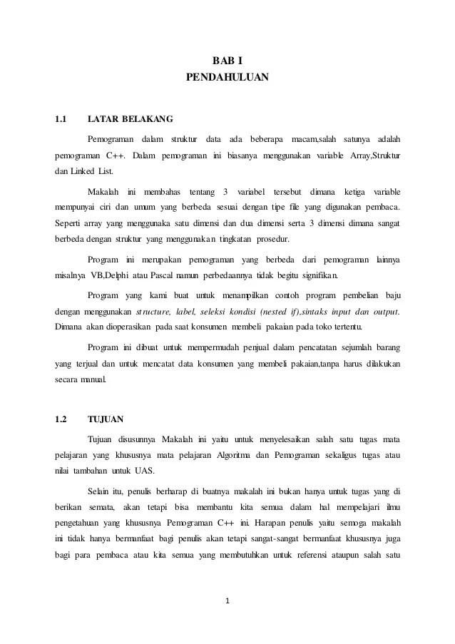 Contoh Makalah Bahasa Indonesia Tentang Pemenggalan Kata Kumpulan Contoh Laporan Berita Cute766