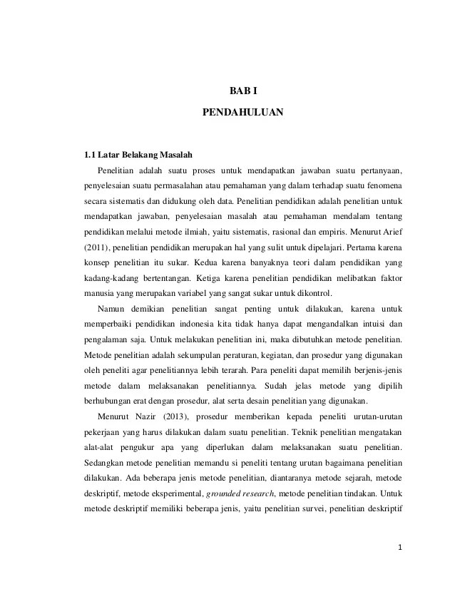 Contoh Skripsi Deskriptif : contoh, skripsi, deskriptif, Contoh, Metode, Penelitian, Deskriptif