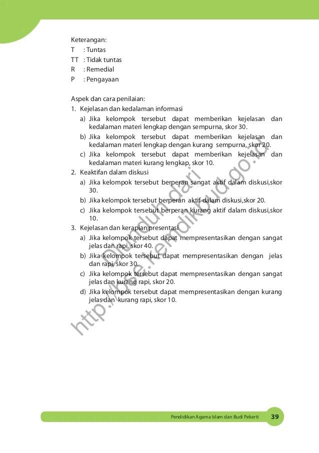 Kunci Jawaban Agama Islam Kelas 9 Halaman 153 156 Download File Guru
