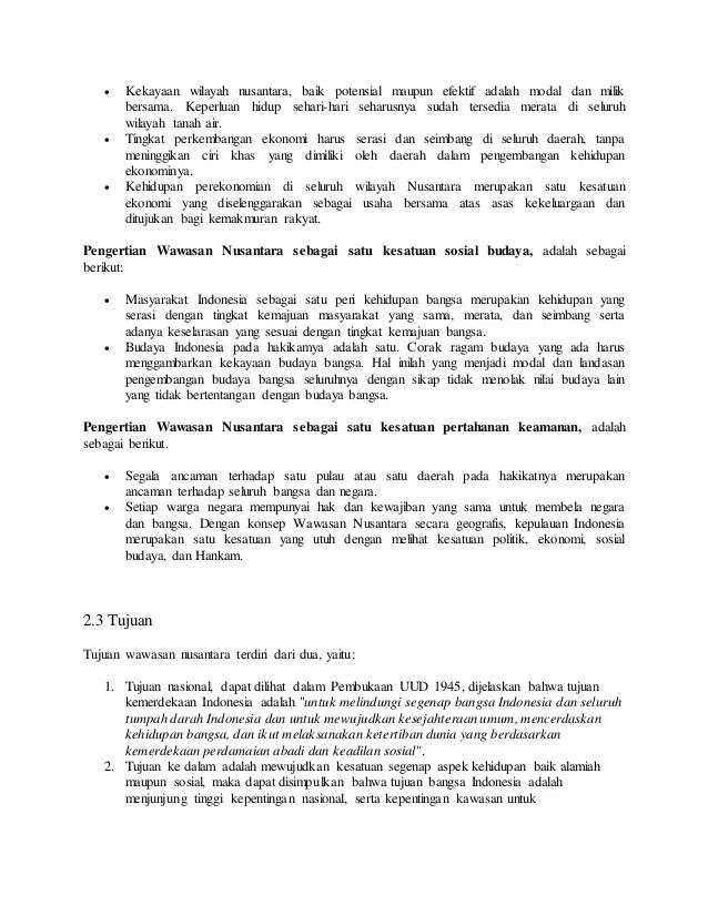 Indonesia Sebagai Satu Kesatuan Politik : indonesia, sebagai, kesatuan, politik, Pendidikan, Kewarganegaraan, Wawasan, Nusantara
