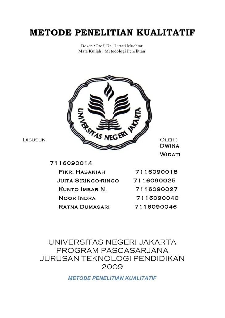 Contoh Judul Skripsi Pgsd Penelitian Kualitatif Kumpulan Berbagai Skripsi Cute766