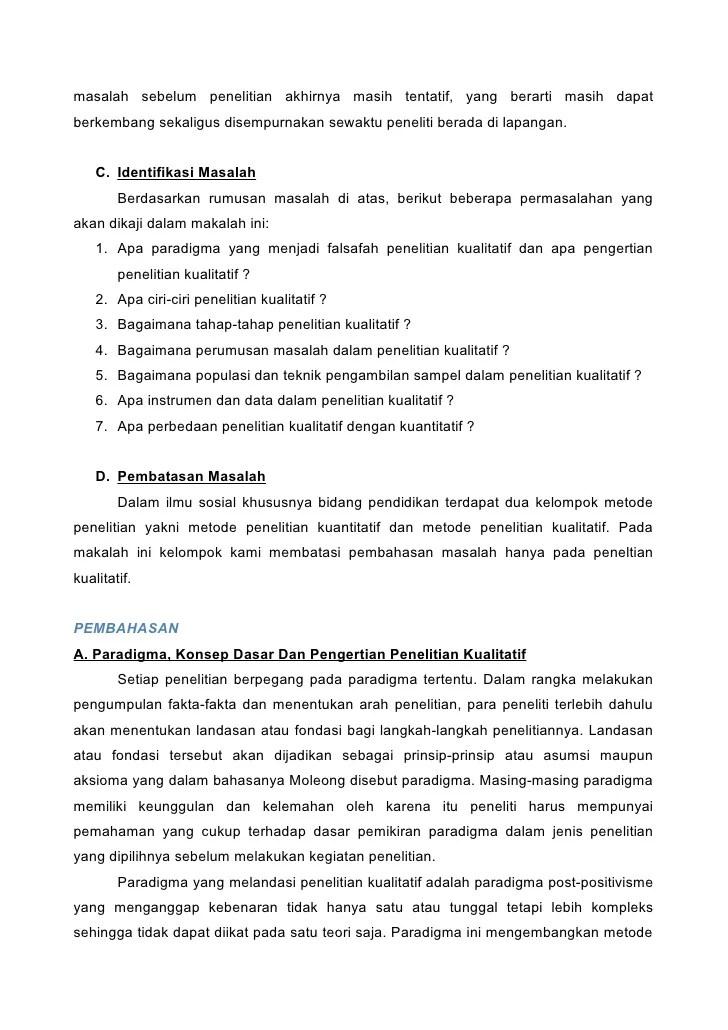 Contoh Masalah Penelitian Kuantitatif Aneka Contoh Cute766