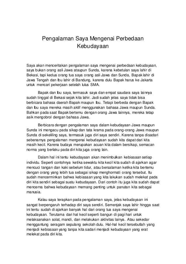 Cerita Pengalaman Bahasa Jawa : cerita, pengalaman, bahasa, Cerita, Pengalaman, Bahasa