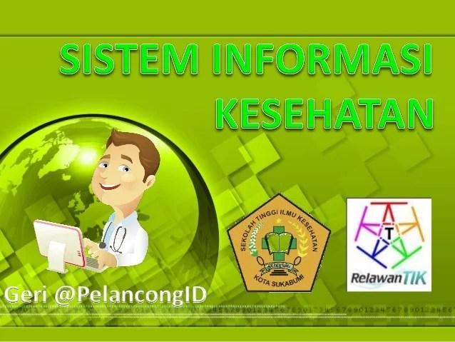 Pengantar Sistem Informasi Kesehatan