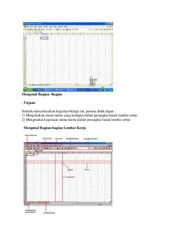 Gambar Lembar Kerja Microsoft Excel : gambar, lembar, kerja, microsoft, excel, Pengenalan, Lembaran, Kerja, Microsoft, Excel