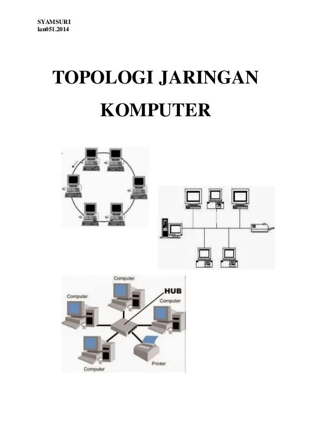 Jenis Topologi : jenis, topologi, Pengertian, Macam, Topologi, Jaringan, Komputer