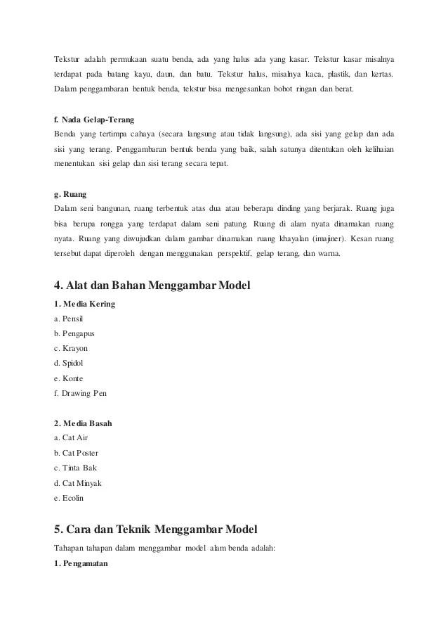 Pengertian Menggambar Model : pengertian, menggambar, model, Pengertian, Menggambar, Model